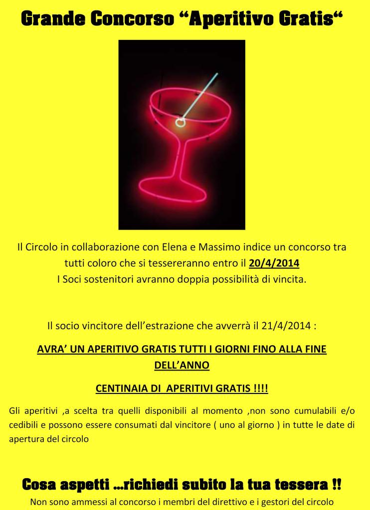 aperitivo gratis2014