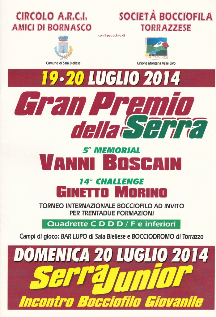 Gran Premio della serra 2014