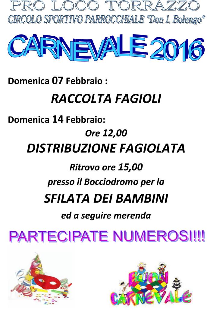 Microsoft Word - locandina Carnevale 2016.doc